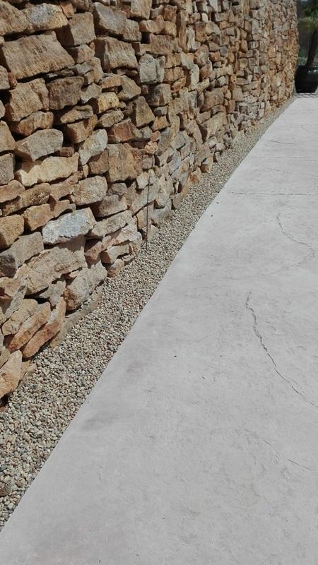 Pied de mur